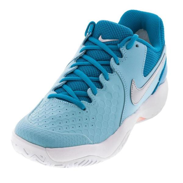 reputable site 6e4d0 0f7e8 Nike Women Air Zoom Resistance Tennis Shoes Bleached