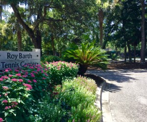 Roy Barth Tennis Center on Kiawah // A Secluded Sanctuary on the Coast