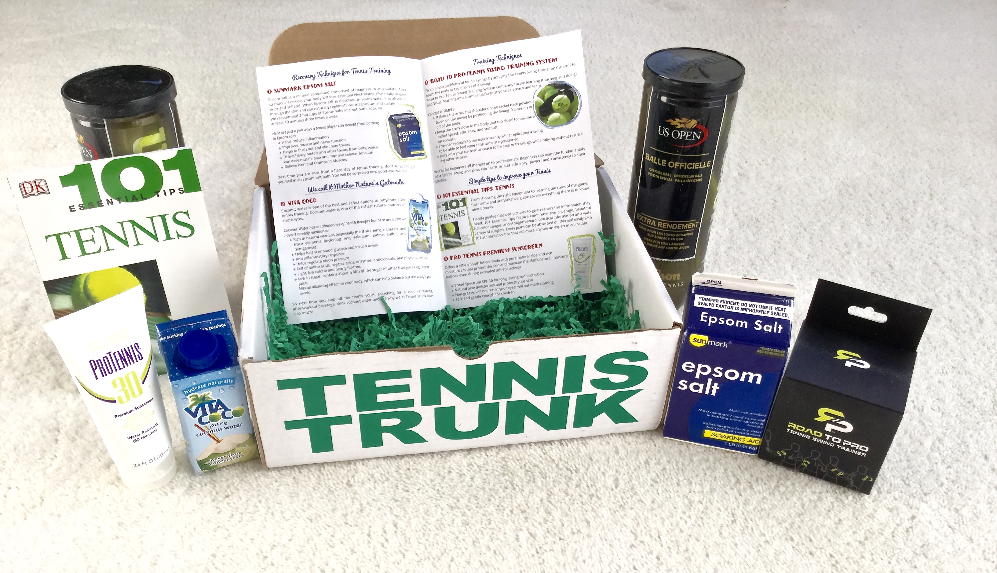 Tennis Trunk // You Should Love This Monthly Tennis Subscription