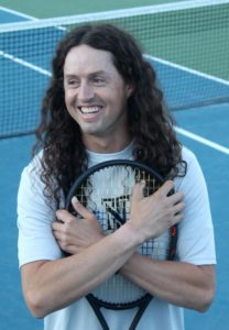 tennis tweener trick shot artist