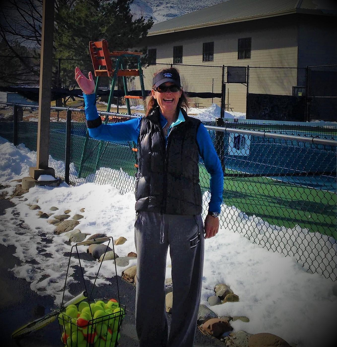Tennis Pro Kristine Wymore Reno Nevada