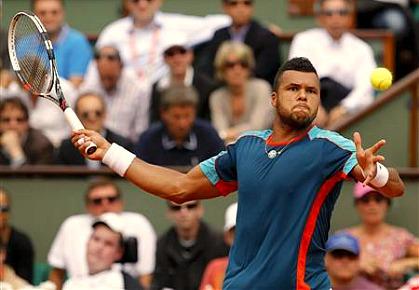 Tsonga 2012 French Open