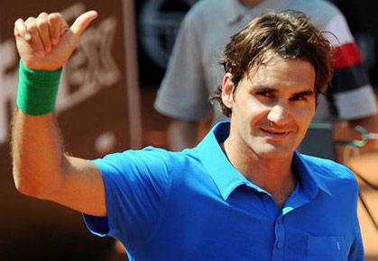 Roger Federer - 2012 Rome