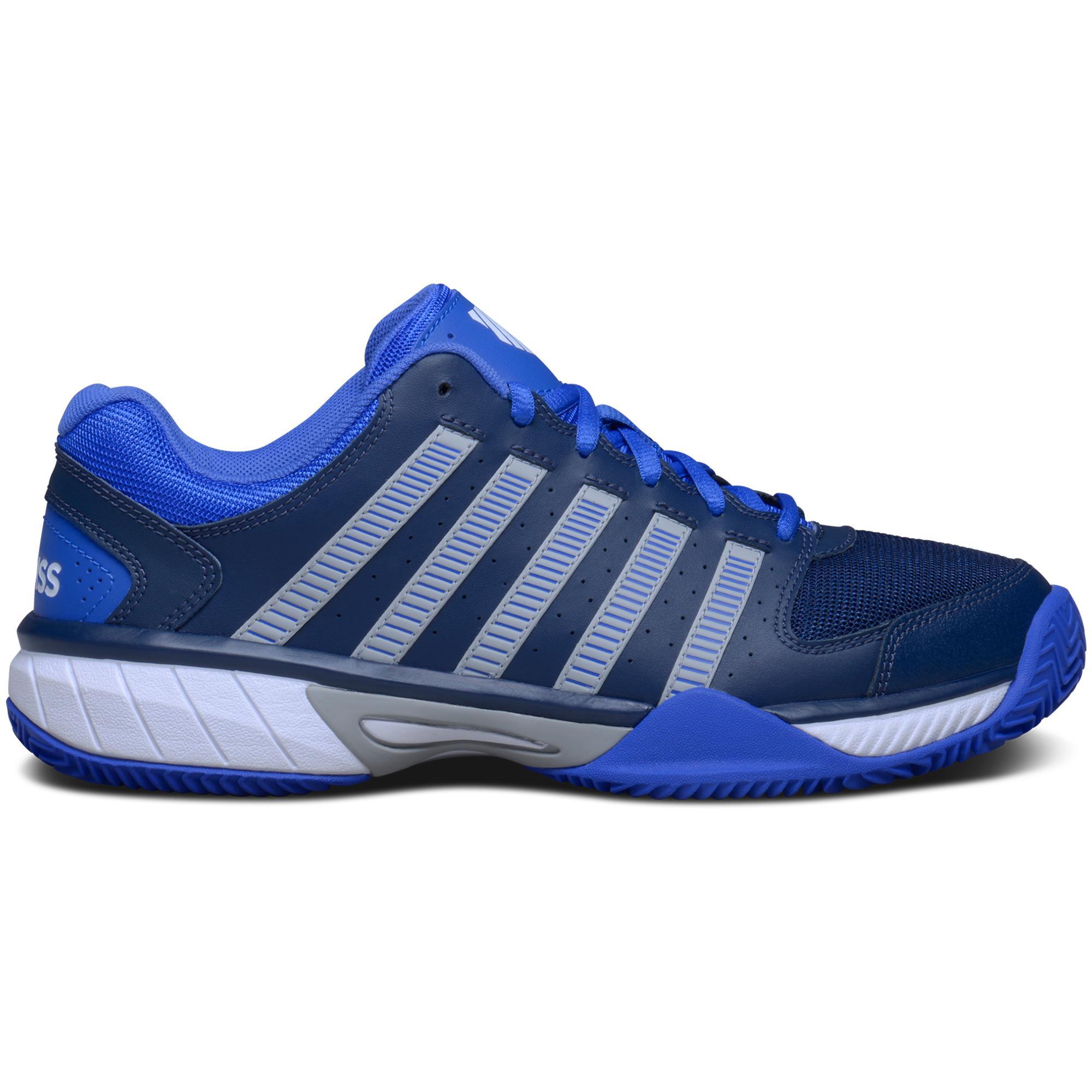 K-Swiss Mens Express LTR Tennis Shoes - Blue - Tennisnuts.com
