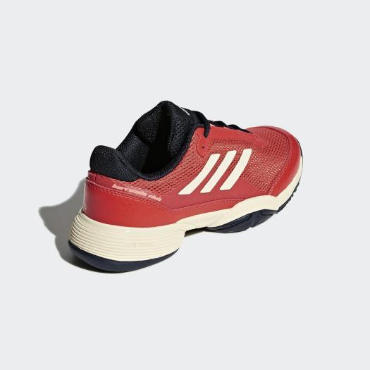 Adidas Kids Barricade Club Tennis Shoes - Coral ...