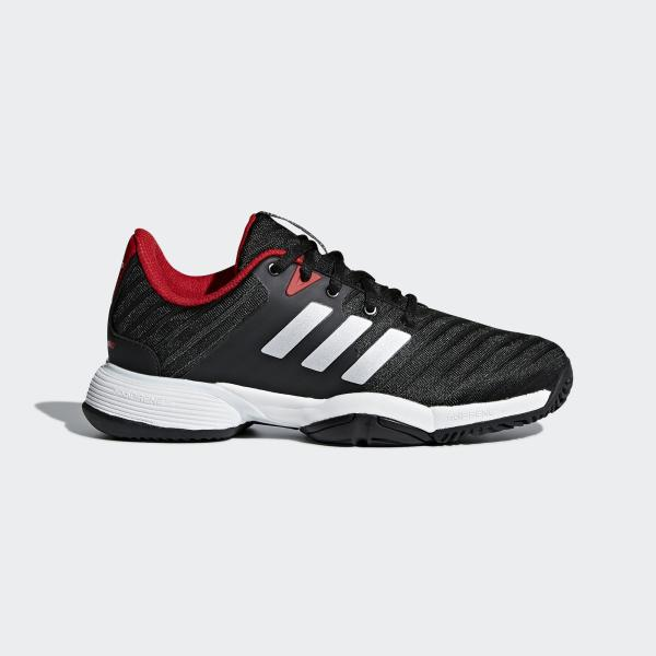 Adidas Kids Barricade 2018 Tennis Shoes BlackWhite