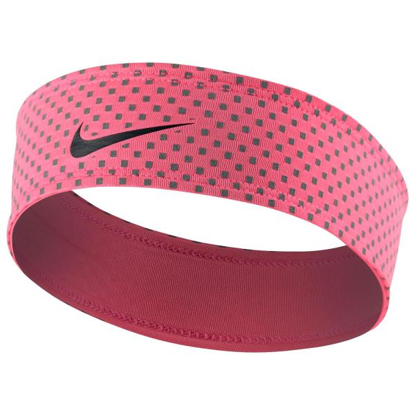 Pink Nike Dri-FIT Headband
