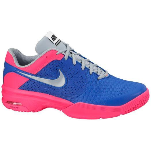 Nike Mens Air CourtBallistic 4.1 Tennis Shoes - Blue/Pink ...