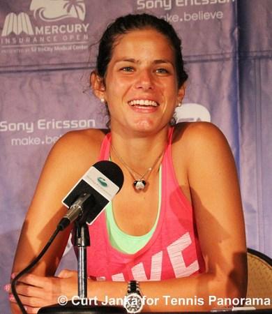 Julia Goerges Tennis Panorama News Carlsbad