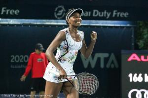 Venus Williams over Wozniacki