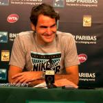 Roger Federer, Rafael Nadal Set Up Fourth Round Clash at the BNP Paribas Open; Novak Djokovic Advances