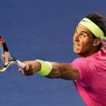 Rafael Nadal Survives Tim Smyczek in Five Sets at Australian Open