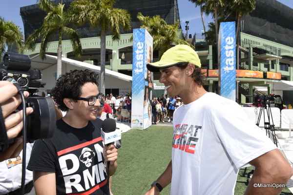Nadal at Miami Open Media day