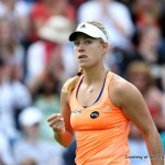 Top Seeded Kerber Loses, While Williams, Halep and Ostapenko Advance to Elite Eight at Wimbledon