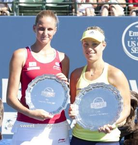 Pliskova and Kerber trophy ceremony-001