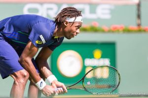 Monfils ready for serve