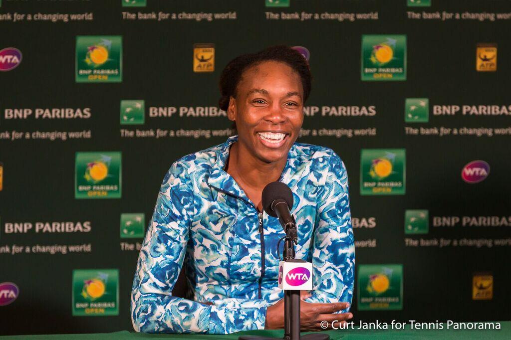 Venus Williams bnppo16