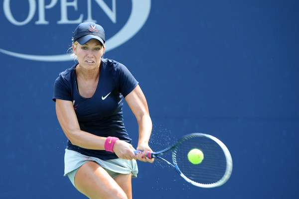 September 9, 2016 - Danielle Collins in action against Breaunna Addison in a women's collegiate invitational semifinal match during the 2016 US Open at the USTA Billie Jean King National Tennis Center in Flushing, NY.