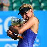 Donna Vekic Beats No. 8 Johanna Konta for Nottigham Title