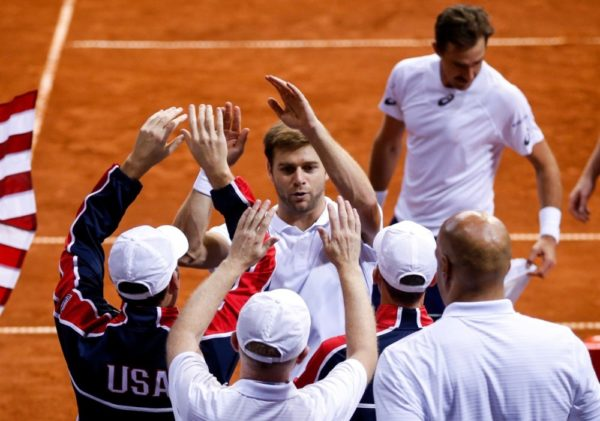 Serbia loses to US in Davis Cup World Group