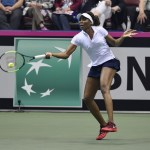 Team USA Leads Netherlands 2-0 after Day 1 of Fed Cup World Group Tie