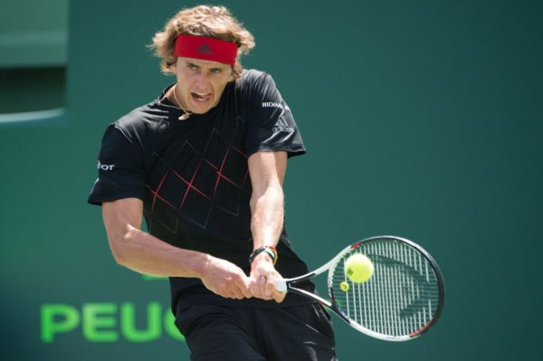 Zverev out to end Isner's suprise run in Miami Open final