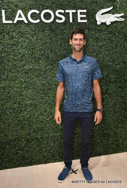Lacoste Celebrates Tennis Champion Novak Djokovic At Macy S Tennis Panorama