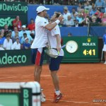 """""""Bryan and Ryan"""" Win Doubles in Five Sets to Extend Davis Cup World Group Semifinal in Croatia"""