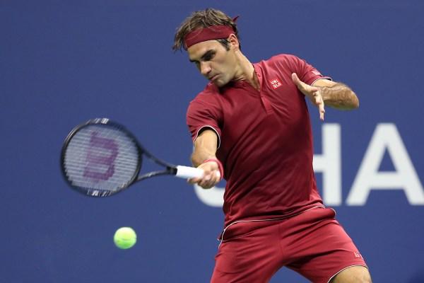 20180828 Yoshihito Nishioka v Roger Federer - Day 2