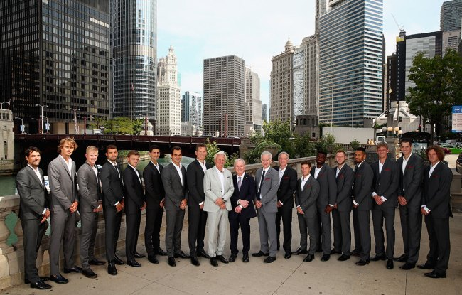 groupshot Laver Cup