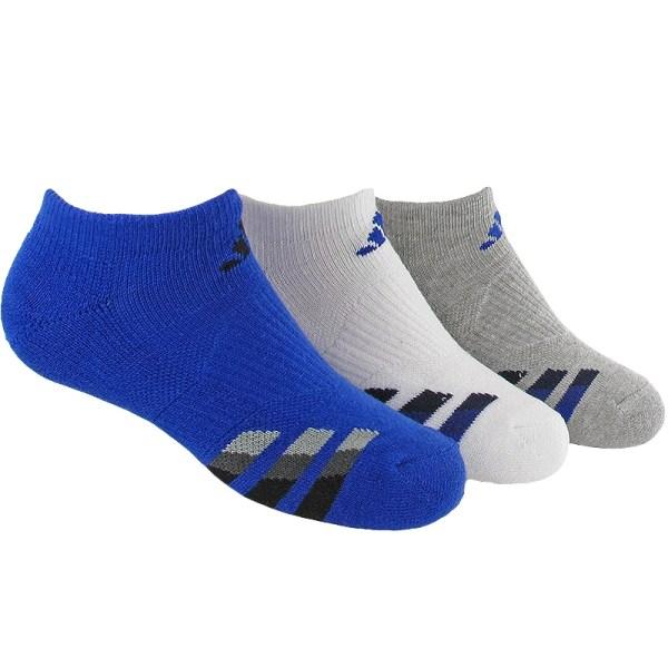Adidas Cushion 3 Pack Show Junior' Tennis Socks Blue