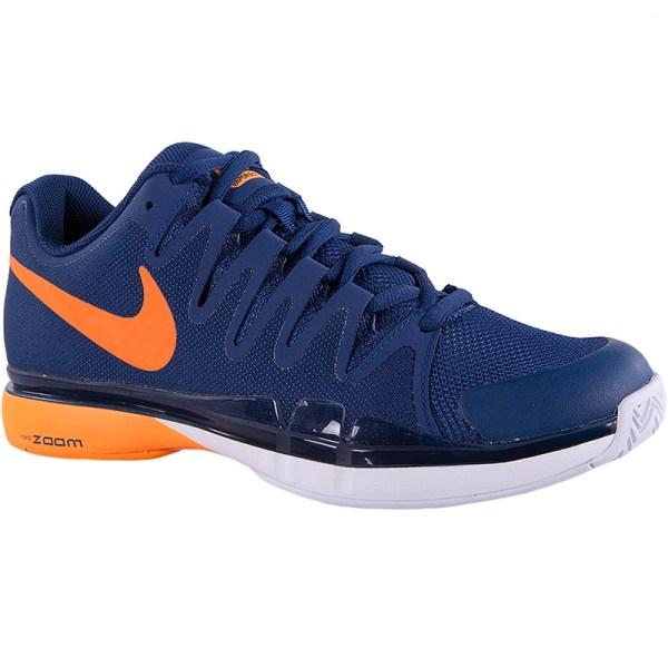 Nike Zoom Vapor 9.5 Tour Men' Tennis Shoe Blue Citrus