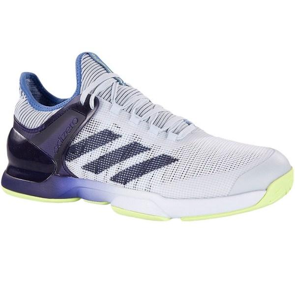 Adidas Adizero Ubersonic 2 Men' Tennis Shoe Blue Yellow