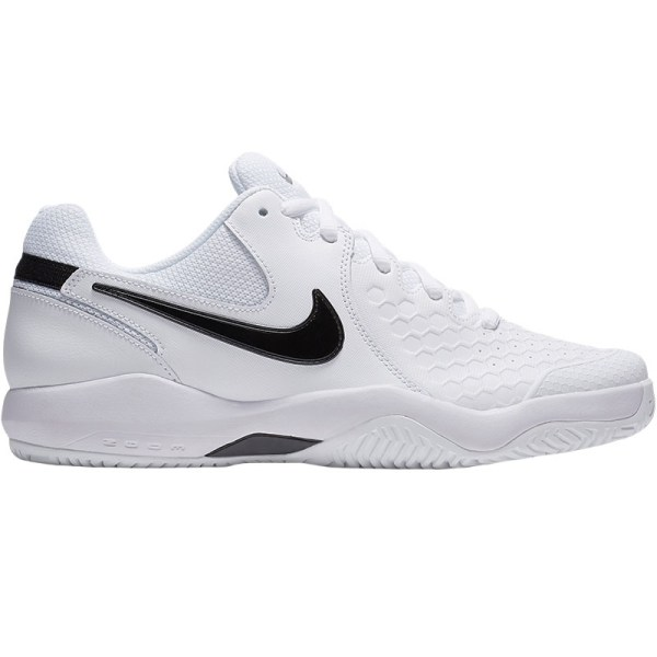 Nike Air Zoom Resistance Men' Tennis Shoe White Black