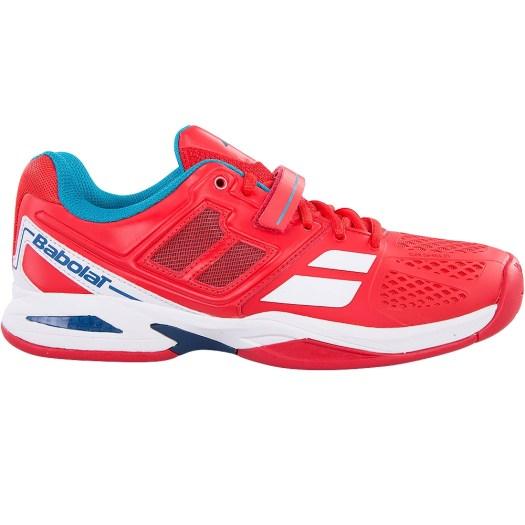 Babolat Propulse BPM Junior Tennis Shoe Red