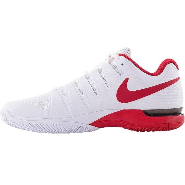 Nike Zoom Vapor 9.5 Tour Men' Tennis Shoe White Red