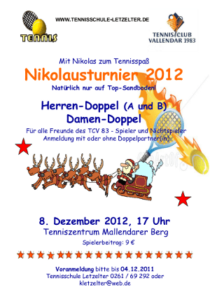 Nikolausturnier 2012