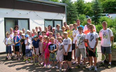 Eine Woche Tennis satt – Tenniscamp auf dem Mallendarer-Berg