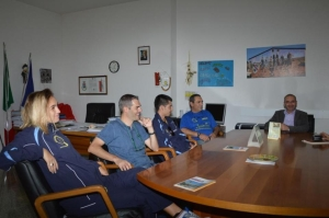 L'incontro in Municipio col sindaco Antonio Pinna