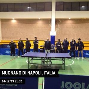 La presentazione di Mugano di Napoli