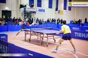 La sfida iniziale del match maschile (Max Mocci Fotografia)