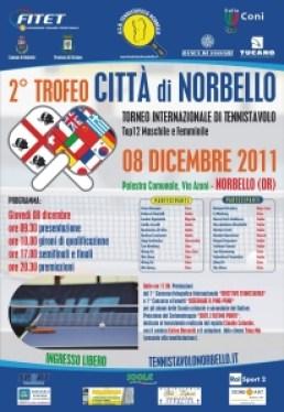 Locandina 2° Trofeo Città di Norbello - 08-12-2011 Web
