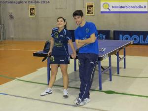 Eleonora Trudu con l'allenatore Mauro Locci