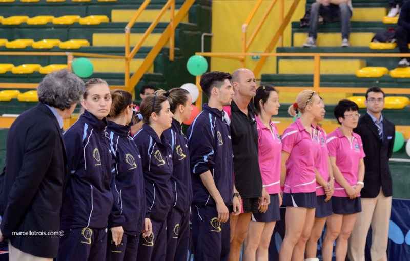La presentazione delle squadre (Foto Marcello Trois)