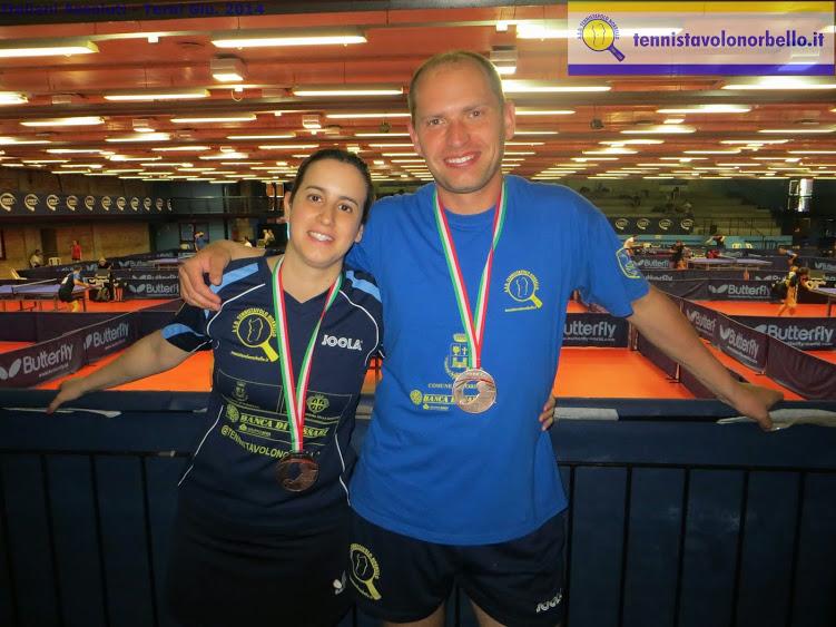 Marina Conciauro, Maxim Kuznetsov e due bronzi