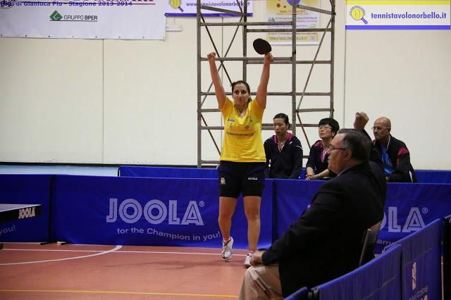 Angy Papadaki in formato finale scudetto (Foto Gianluca Piu)