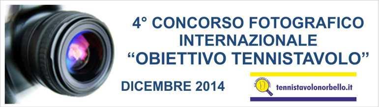 Banner 4° Concorso Fotografico Internazionale - Web