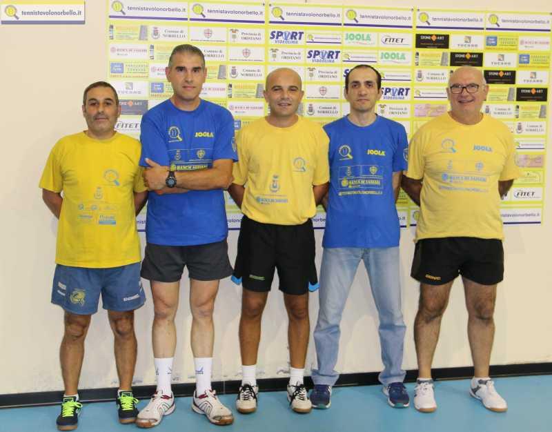 D2 M. Tennistavolo Norbello 2014-2015 - 1