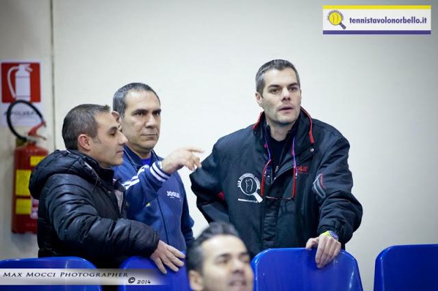Il presidente del Tennistavolo Norbello Simone Carrucciu (Max Mocci Fotografia)