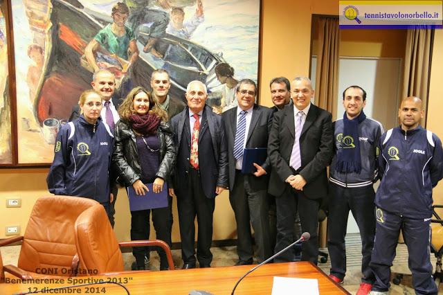 Foto di gruppo dopo la premiazione a Oristano (Foto Gianluca Piu)